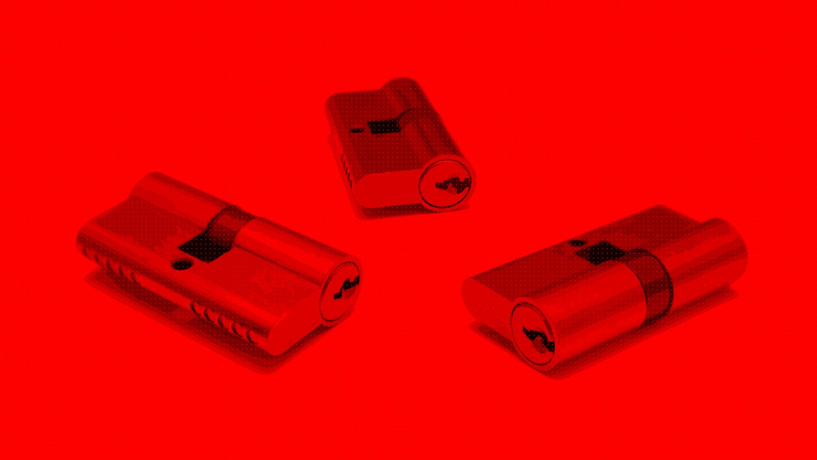 Différents cylindres de sécurité